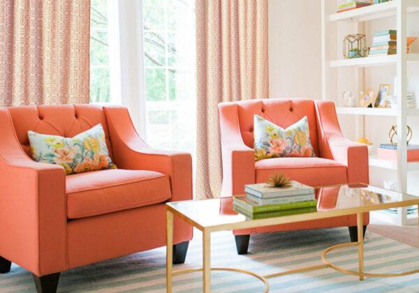 Фото персиковой мебели