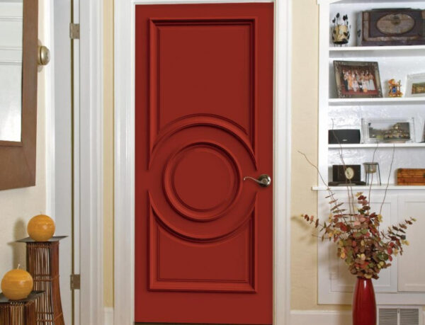 Терракотовая дверь