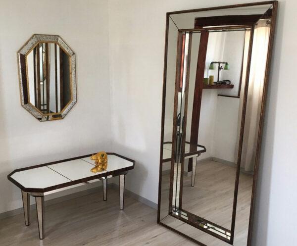 Зеркало металлик