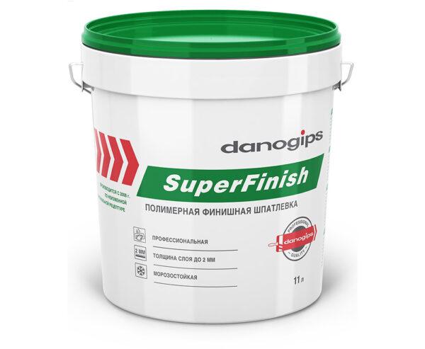 Шпаклевка Danogips Sheetrock SuperFinish